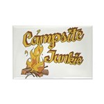 Campsite Junkie Rectangle Magnet