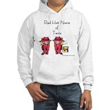 Red Hat Nana of Twins Jumper Hoody