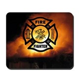 Fire Fighter Photo Mousepad