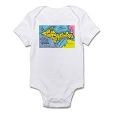 Michigan Northern Upper Peninsula Infant Bodysuit