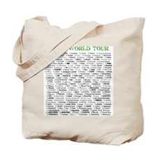 Cute Egypt map Tote Bag