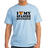 I Love My Spanish Boyfriend T-Shirt