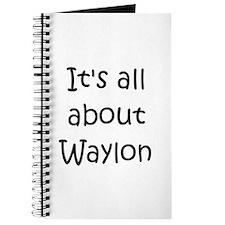 Unique Waylon Journal
