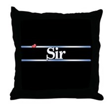 Sir Throw Pillow