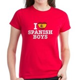 I Love Spanish Boys Tee
