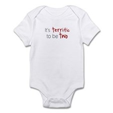 Its Terrific to be TWO! Infant Bodysuit