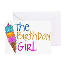 The Birthday Girl Greeting Card