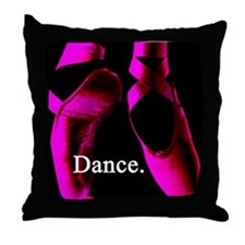 Dance. Throw Pillow