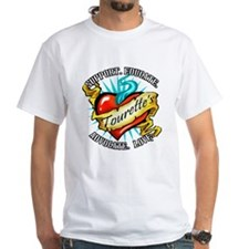 Tourette's Tattoo Heart Shirt