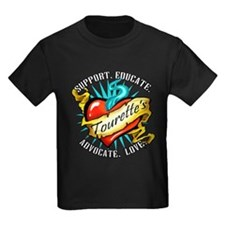 Tourette's Tattoo Heart T