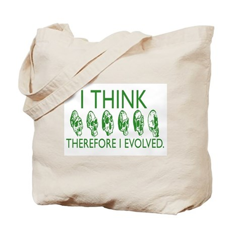 I Evolved Tote Bag