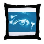 Eye Key Throw Pillow
