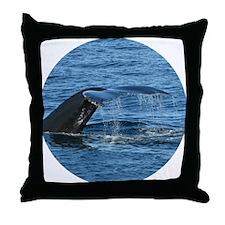 Whale Tail - Throw Pillow