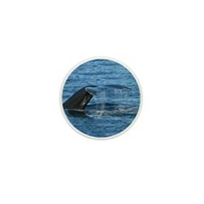 Whale Tail - Mini Button (100 pack)