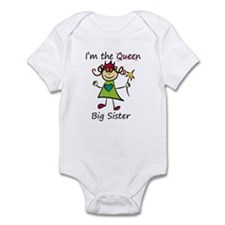 I'm the Queen..Big Sister Infant Bodysuit
