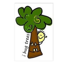 I Hug Trees Postcards (Package of 8)