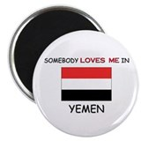 "Somebody Loves Me In YEMEN 2.25"" Magnet (10 pack)"