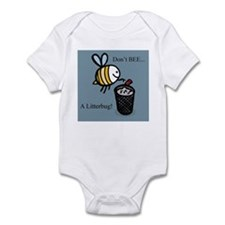 Don't Litter Infant Bodysuit