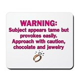 Chocolate & Jewelry Mousepad