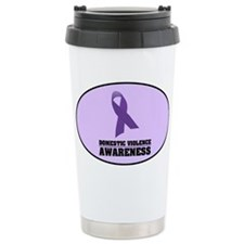 DV Awareness Ceramic Travel Mug
