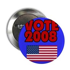 "Vote 2008 2.25"" Button"