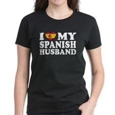 I Love My Spanish Husband Tee