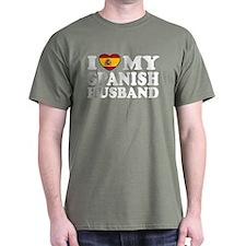 I Love My Spanish Husband T-Shirt