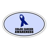 CC Awareness Oval Decal