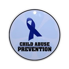 CA Prevention Ornament (Round)