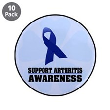 "Arthritis Awareness 3.5"" Button (10 pack)"