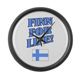 Finn for Life Large Wall Clock
