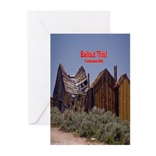 Bailout This! Greeting Cards (Pk of 10)