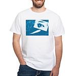 Chain Eye White T-Shirt