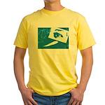 Chain Eye Yellow T-Shirt