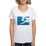 Chain Eye Women's V-Neck T-Shirt