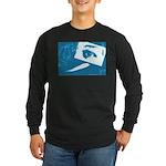 Chain Eye Long Sleeve Dark T-Shirt