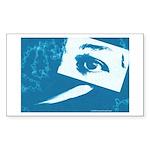Chain Eye Rectangle Sticker 50 pk)