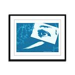 Chain Eye Framed Panel Print