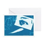 Chain Eye Greeting Cards (Pk of 20)