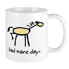 Bad Mare Day Small Mug