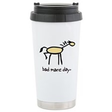 Bad Mare Day Ceramic Travel Mug