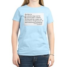 Dyslexia definition Women's Pink T-Shirt