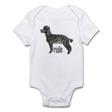 Poodles Rule Infant Bodysuit