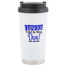 CancerWrongDiva Ceramic Travel Mug
