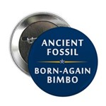 "Ancient Fossil Born Again Bimbo 2.25"" Butto"