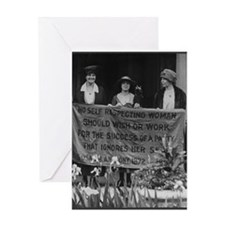 Alice Paul Greeting Card