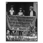 Alice Paul Suffragist Small Poster
