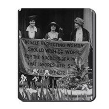 Alice Paul Mousepad