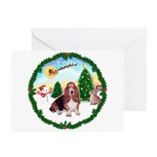 Take Off1/Basset Hound Greeting Cards (Pk of 20)