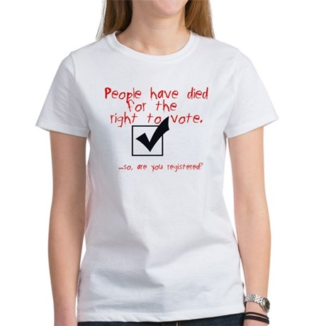 Are You Registered? Women's T-Shirt